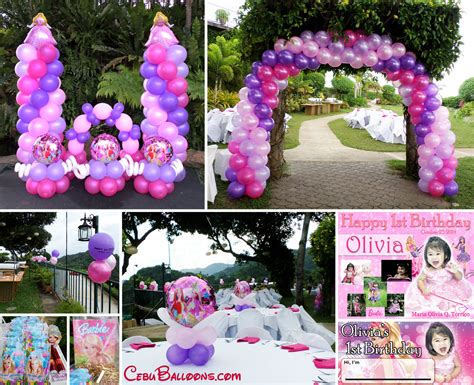 Theme Decoration by Barbie Cebu Balloons And Party Supplies