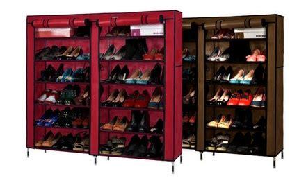 shoe rack groupon goods