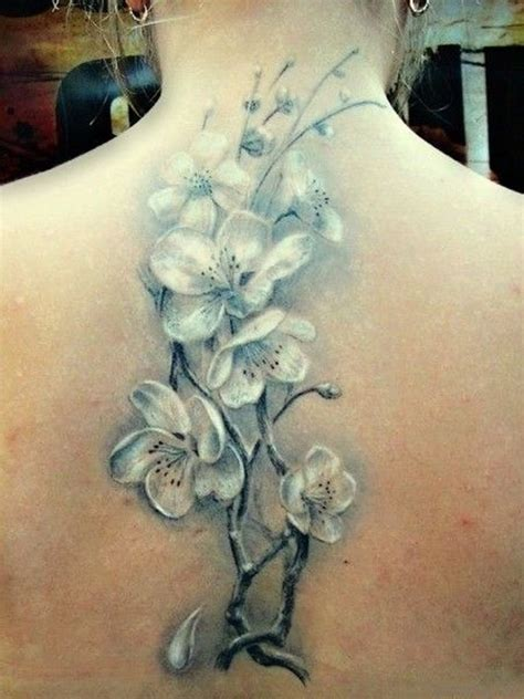 white flower tattoo 78 superb flowers tattoos for back
