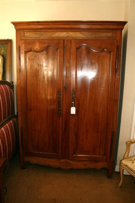 wooden armoire wardrobe cherry wood armoire wardrobe 299888 sellingantiques co uk