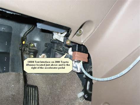 on board diagnostic system 2000 honda accord instrument cluster diagnostic port under hood vs obdii port under dash yotatech forums