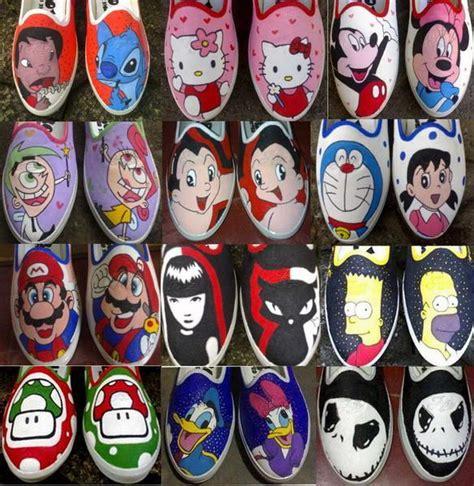Cat Lukis Sepatu Kanvas ernaestha fashion cara membuat sepatu lukis