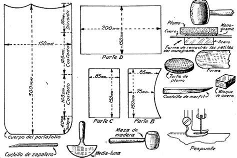 como hacer una cartera de cuero para hombre como hacer una cartera o portafolio en cuero 1 de 2