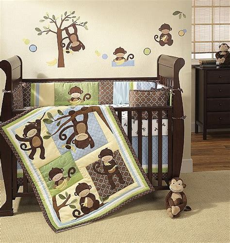 Unique Monkey Crib Bedding Ideas Advice On Decorating A Monkey Themed Crib Bedding Set