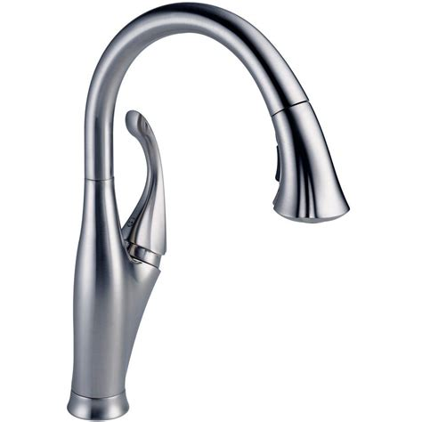 addison kitchen faucet delta fuse single handle pull down sprayer kitchen faucet
