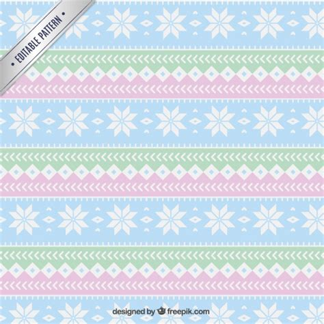 download pattern pastel geometric christmas pattern in pastel colors vector free