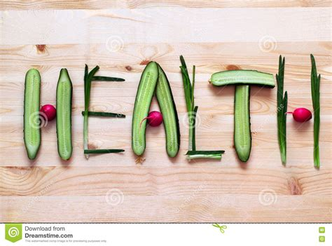5 Letter Words Vegetable letters made of vegetables royalty free stock photo