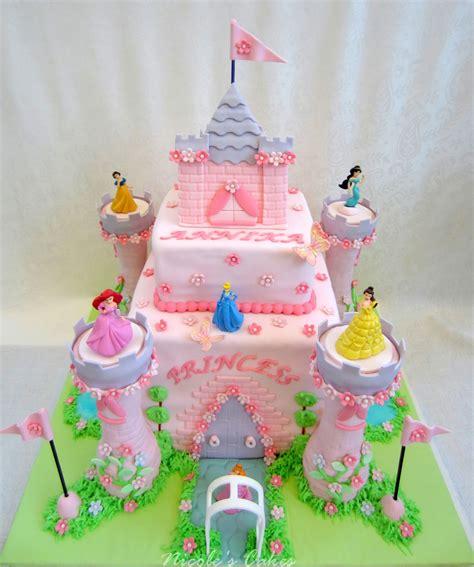 confections cakes creations princess castle cake
