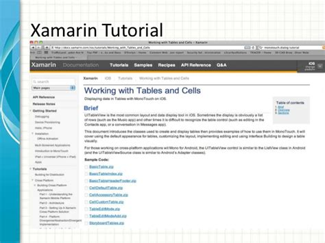 tutorial xamarin ios español learning c ipad programming