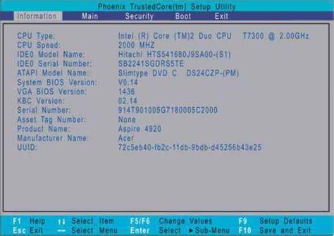 reset bios version acer aspire m3100 bios download