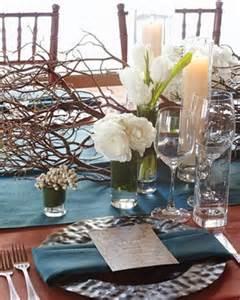 winter centerpieces for tables winter wedding table d 233 cor ideas wedding colours