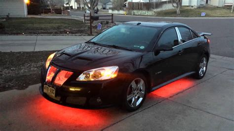 pontiac g6 2008 pontiac g6 with new lights