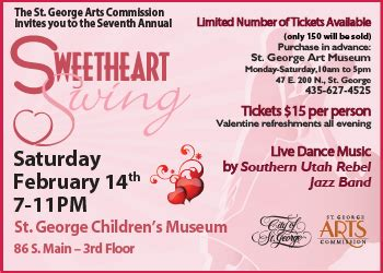 sweetheart swing sweetheart s invited to swing night away at valentine s