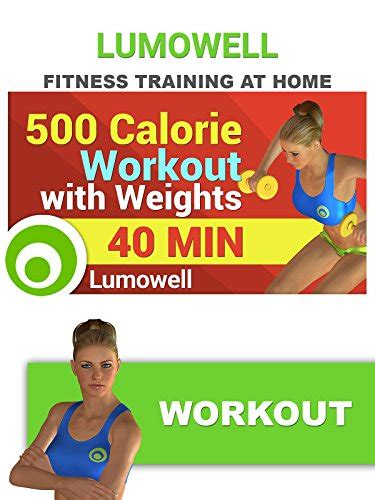 500 calorie workout with weights on prime