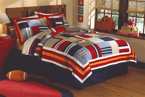 comforters for teenage guys ronnie varsity striped teen dorm quilt set
