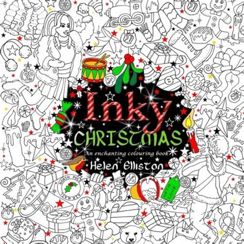 inky christmas an enchanting colouring book inky colouring books