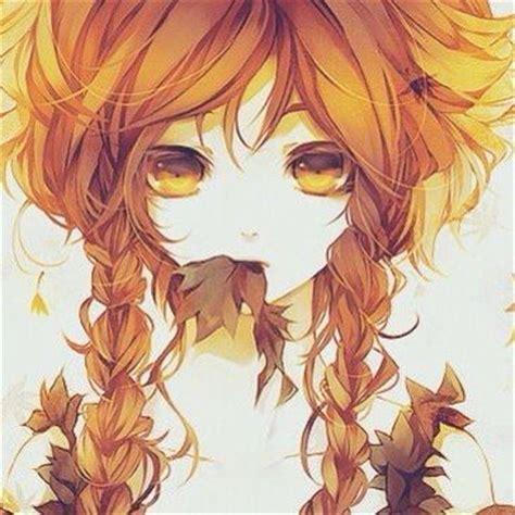 anime fall autumn fall anime manga girl anime the beginning