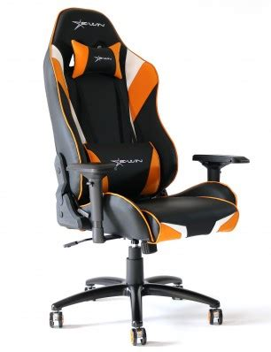 Ewin Special Series Black Orange White Gaming Chair Kursi Gaming 1 ewin chion series ergonomic computer gaming office chair with pillows cpa