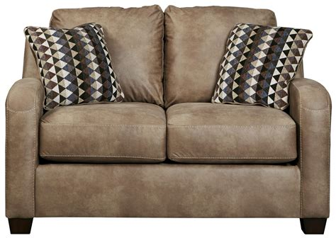 benchcraft leather sofa benchcraft alturo 6000335 contemporary faux leather