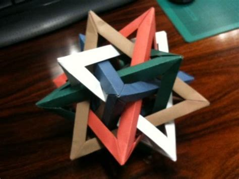 Origami Mathematical Models - origami mathematical models math project model www