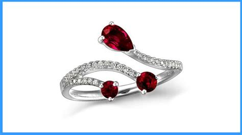 ruby engagement rings meaning what your ring says about you