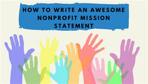 Harvard Mba Nonprofit by How To Write An Awesome Nonprofit Mission Statement