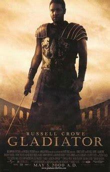 gladiator film name gladiator 2000 film wikipedia