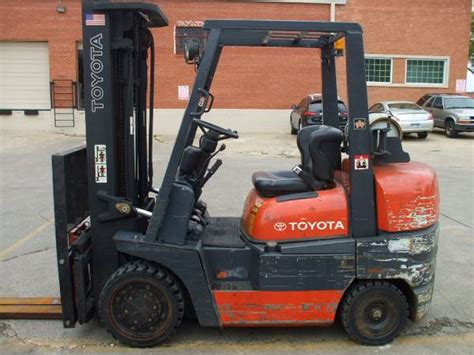 Toyota Lift Of San Antonio Toyota Forklift 8 000 Lbs Capacity Used Forklifts