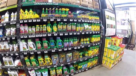 miracle grown  home depot garden center youtube