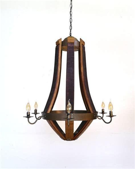 Wine Barrel Chandelier For Sale Craftsman Quot Serotina Quot Wine Barrel Teardrop Chandelier 100 Recycled To Be The O Jays And