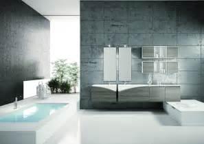 mobilier design en forme d ailes salle de bain design