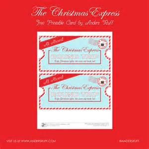 ruff draft free printable christmas express ticket