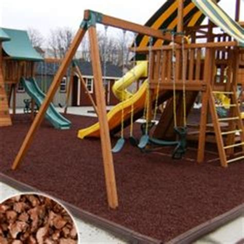 swing set rubber mulch 1000 images about rubber playground mulch on pinterest