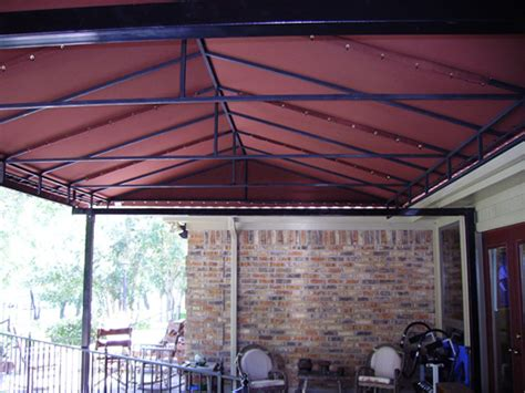 Fabric Patio Covers Awnings Dallas Fort Worth Residential Fabric Canvas