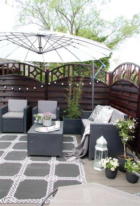 ideen für kleine terrassen unsere neue diy terrasse design dots