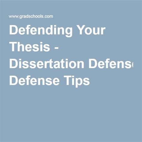 defending your dissertation 10 best thesis defense images on thesis