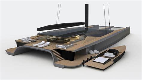 trimaran design principles blackcat superyachts new multihull megayacht brand