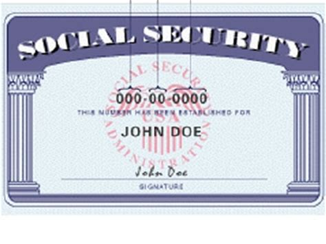 blank social security card template service temporarily unavailable