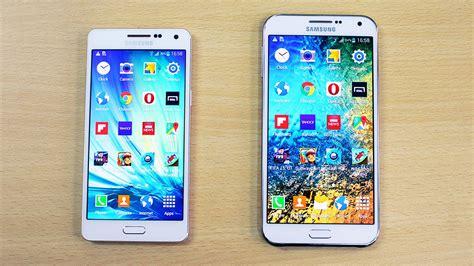 Samsung Galaxy A5 A7 E5 E7 samsung galaxy a5 vs galaxy e7 speed test