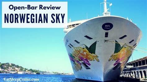 norwegian cruise open bar norwegian escape secrets every cruiser needs to know