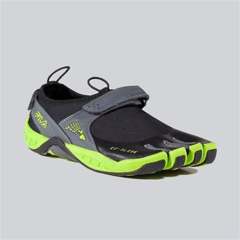 fila toe shoes for fila skele toes 3 0 mens ez slide shoes barefoot black