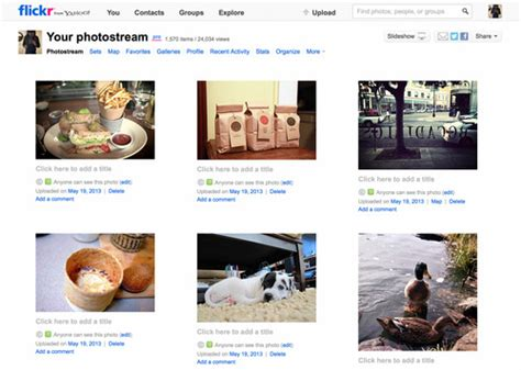 old yahoo layout 1tb of free storage for flickr users search social media