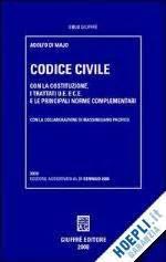 libreria giuffre codice civile di majo adolfo giuffr 232 libro hoepli it