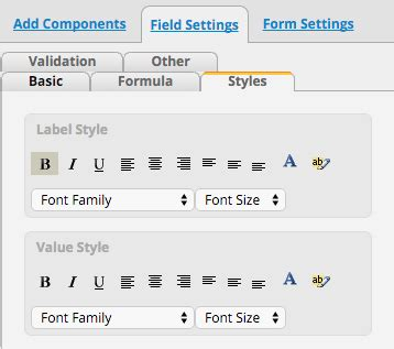 jsp layout exle tuning the layout of your form