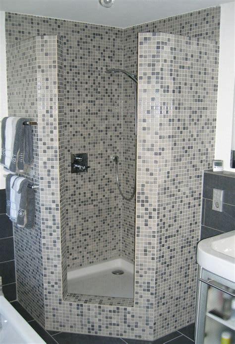Badezimmer 4 X 2 M by Gemauerte Dusche Als Blickfang Im Badezimmer Vor Und