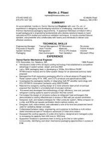 engineer mechanical resume sales mechanical site