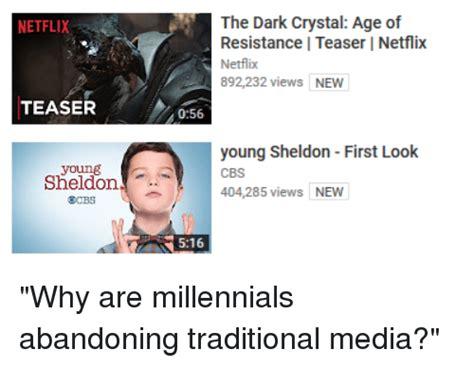 Young Sheldon Memes - netflix teaser sheldon the dark crystal age of resistance i teaser l netflix netflix 892232