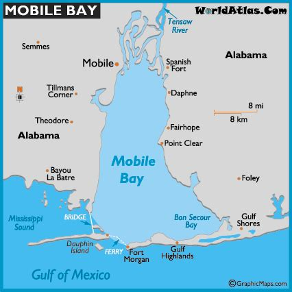 mobile maps map of mobile bay mobile bay map world bays location