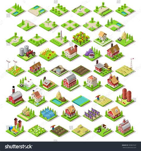 3d Building Design Online Free vector isometric game flat infographic building stock