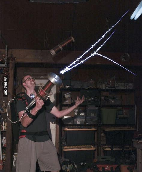 tesla coil gun plasma